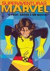 Cover for Superaventuras Marvel (Editora Abril, 1982 series) #72