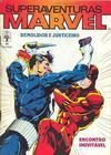 Cover for Superaventuras Marvel (Editora Abril, 1982 series) #92