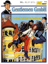 Cover Thumbnail for Zack Comic Box (Koralle, 1972 series) #34 - Gentlemen GmbH - Scotland Yard jagt die Gentlemen
