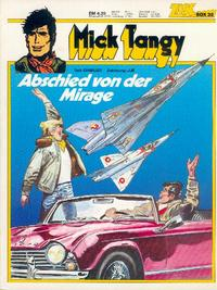 Cover Thumbnail for Zack Comic Box (Koralle, 1972 series) #35 - Mick Tangy - Abschied von der Mirage