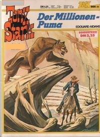 Cover Thumbnail for Zack Comic Box (Koralle, 1972 series) #38 - Tony Stark - Der Millionen-Puma