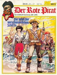 Cover Thumbnail for Zack Comic Box (Koralle, 1972 series) #43 - Der rote Pirat - Die Insel der verschwundenen Schiffe