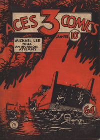 Cover Thumbnail for Three Aces Comics (Anglo-American Publishing Company Limited, 1941 series) #v1#2