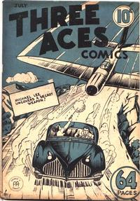 Cover Thumbnail for Three Aces Comics (Anglo-American Publishing Company Limited, 1941 series) #v1#6