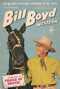 Cover Thumbnail for Bill Boyd Western (Export Publishing, 1950 series) #9