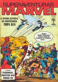 Cover Thumbnail for Superaventuras Marvel (Editora Abril, 1982 series) #43