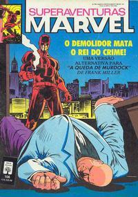 Cover Thumbnail for Superaventuras Marvel (Editora Abril, 1982 series) #106
