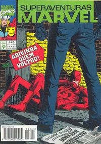 Cover for Superaventuras Marvel (Editora Abril, 1982 series) #143