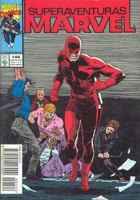 Cover Thumbnail for Superaventuras Marvel (Editora Abril, 1982 series) #144