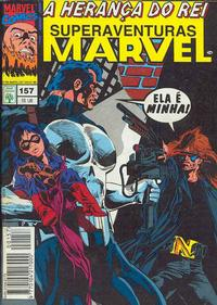 Cover Thumbnail for Superaventuras Marvel (Editora Abril, 1982 series) #157