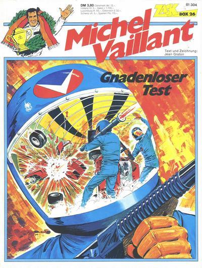 Cover for Zack Comic Box (Koralle, 1972 series) #26 - Michel Vaillant - Gnadenloser Test