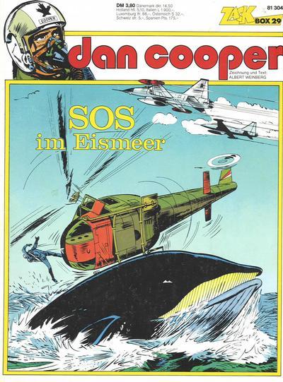 Cover for Zack Comic Box (Koralle, 1972 series) #29 - Dan Cooper - SOS im Eismeer