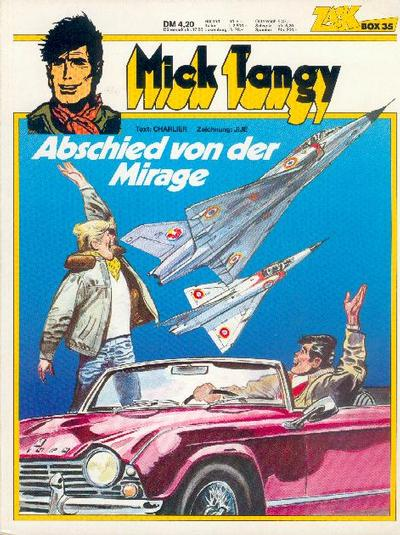 Cover for Zack Comic Box (Koralle, 1972 series) #35 - Mick Tangy - Abschied von der Mirage