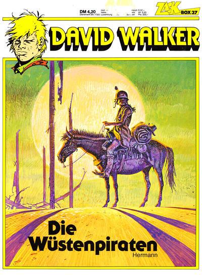 Cover for Zack Comic Box (Koralle, 1972 series) #37 - David Walker - Die Wüstenpiraten