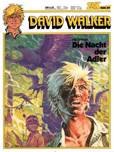 Cover for Zack Comic Box (Koralle, 1972 series) #39 - David Walker - Die Nacht der Adler