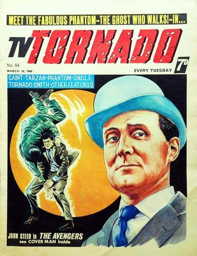 Cover for TV Tornado (City Magazines, 1967 series) #64