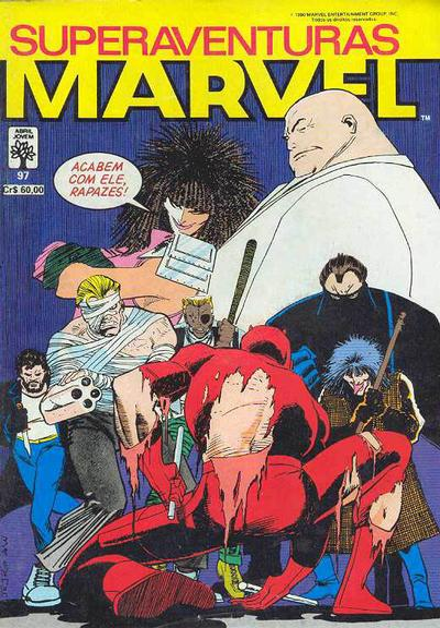 Cover for Superaventuras Marvel (Editora Abril, 1982 series) #97