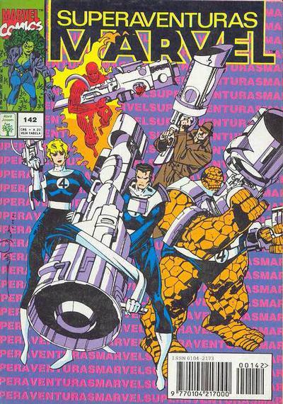 Cover for Superaventuras Marvel (Editora Abril, 1982 series) #142