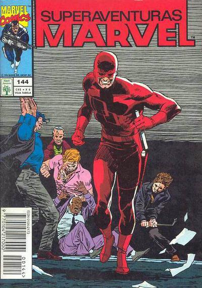 Cover for Superaventuras Marvel (Editora Abril, 1982 series) #144