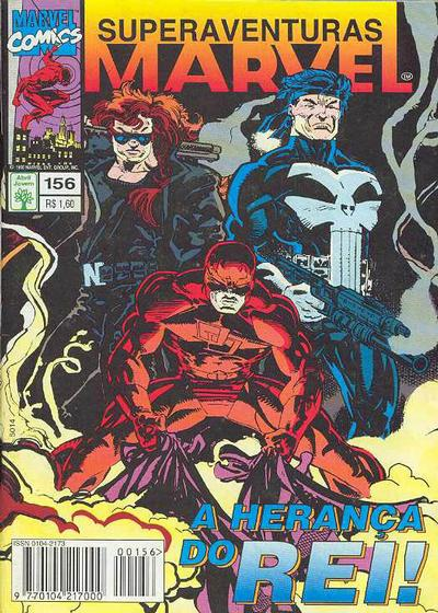Cover for Superaventuras Marvel (Editora Abril, 1982 series) #156