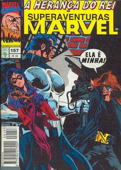 Cover for Superaventuras Marvel (Editora Abril, 1982 series) #157