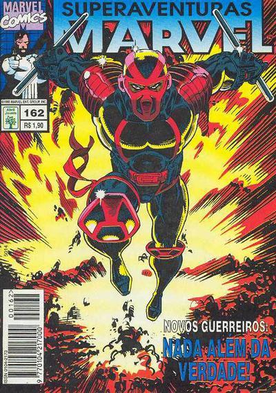 Cover for Superaventuras Marvel (Editora Abril, 1982 series) #162