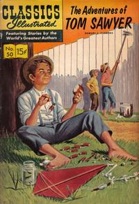 Cover Thumbnail for Classics Illustrated (Gilberton, 1947 series) #50 [HRN 164] - The Adventures of Tom Sawyer