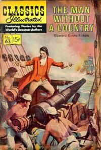 Cover Thumbnail for Classics Illustrated (Gilberton, 1947 series) #63 [HRN165] - The Man Without A Country