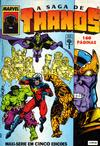 Cover for A Saga de Thanos (Editora Abril, 1992 series) #1