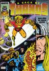 Cover for A Saga de Thanos (Editora Abril, 1992 series) #3