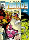 Cover for A Saga de Thanos (Editora Abril, 1992 series) #4