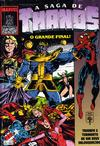 Cover for A Saga de Thanos (Editora Abril, 1992 series) #5