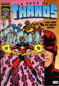 Cover Thumbnail for A Saga de Thanos (Editora Abril, 1992 series) #2