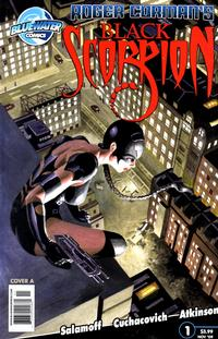 Cover Thumbnail for Black Scorpion (Bluewater / Storm / Stormfront / Tidalwave, 2009 series) #1