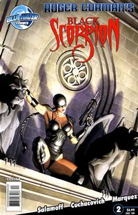 Cover Thumbnail for Black Scorpion (Bluewater / Storm / Stormfront / Tidalwave, 2009 series) #2