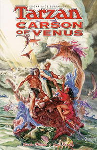 Cover Thumbnail for Edgar Rice Burroughs' Tarzan / Carson of Venus (Dark Horse, 1999 series)