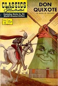 Cover Thumbnail for Classics Illustrated (Gilberton, 1947 series) #11 [HRN 156] - Don Quixote