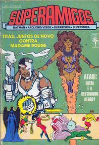 Cover Thumbnail for Superamigos (Editora Abril, 1985 series) #8