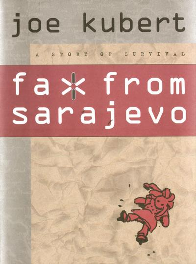Cover for Fax from Sarajevo (Dark Horse, 1996 series)