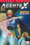 Cover for Agente X (Panini Brasil, 2003 series) #5