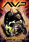 Cover for Alien vs. Predator: Civilized Beasts (Dark Horse, 2008 series)