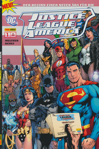 Cover Thumbnail for Justice League of America Sonderband (Panini Deutschland, 2007 series) #1 - Aus der Asche