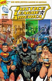 Cover Thumbnail for Justice League of America Sonderband (Panini Deutschland, 2007 series) #2 - Der Pfad des Tornado