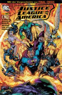 Cover Thumbnail for Justice League of America Sonderband (Panini Deutschland, 2007 series) #6 - Zuflucht