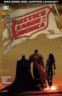 Cover Thumbnail for Justice League of America Sonderband (Panini Deutschland, 2007 series) #9 - Starbreaker