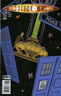 Cover Thumbnail for Doctor Who (IDW, 2009 series) #8 [Cover A]