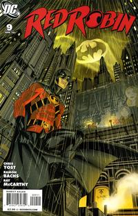 Cover Thumbnail for Red Robin (DC, 2009 series) #9