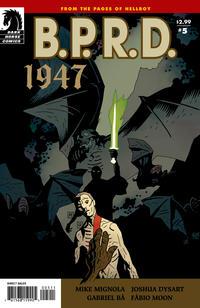Cover Thumbnail for B.P.R.D.: 1947 (Dark Horse, 2009 series) #5
