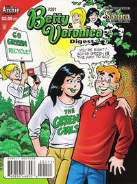 Cover Thumbnail for Betty and Veronica Comics Digest Magazine (Archie, 1983 series) #201