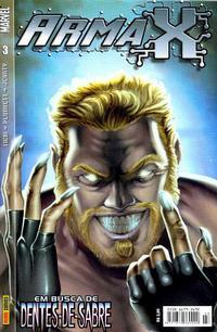 Cover Thumbnail for Arma X (Panini Brasil, 2003 series) #3